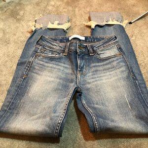 🎉Host Pick🎉Zara Jeans w/ Embellished Cuffs
